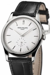 Patek Phillipe men's Calatrava: An expensive, outdated way to know the time.