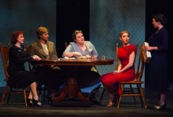 The all-female cast of Theatre Baton Rouge's production of The Women.