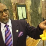 Sen. Elbert Guillory surprisingly didn't catch hell from Catholics for advocating putting rubber on cocks.