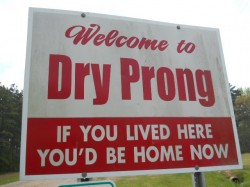 dry-prong-sign
