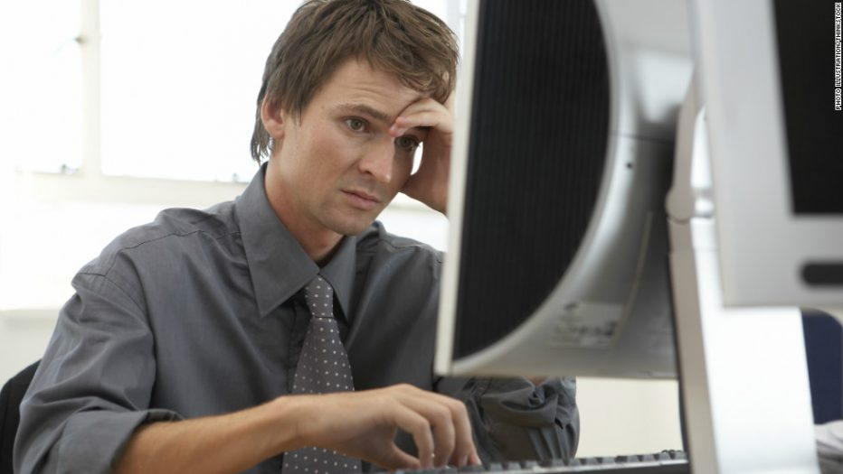 Stressed-man-at-computer