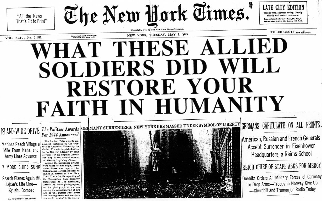 VE-Day-5-8-1945-NY-Times